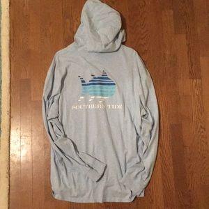 Southern Tide summer thin hoodie t-shirt shirt XXL